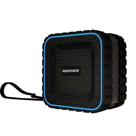 rugged portable speakers promate aquabox rugged wireless portable speaker