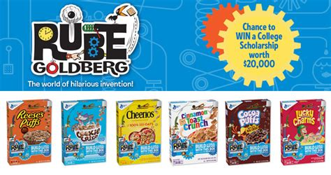 Sweepstakes Machine - rube cereal machines sweepstakes 2018