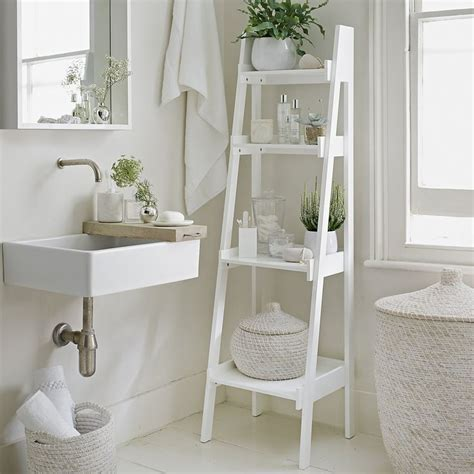 bathroom ladder shelf white the 25 best ideas about decorative ladders on