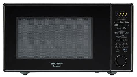 Microwave Sharp R 200j 1 8 cu ft black countertop microwave r 559yk microwave