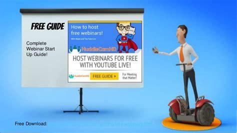 Pelangsing Sbe hosting free webinars with skype and live