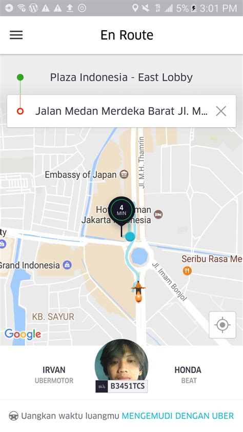 email uber indonesia uber motorbike jakarta what could ve been a great story