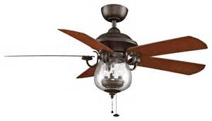 farmhouse style ceiling fans 52 quot fanimation crestford bronze outdoor ceiling fan