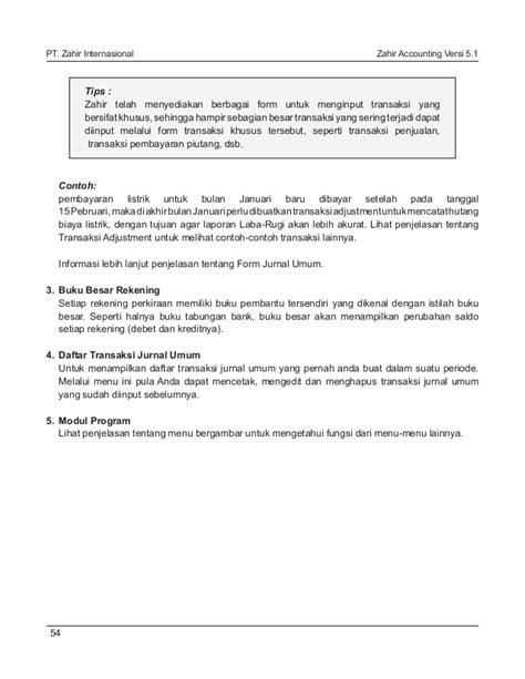 format buku tabungan bank buku panduan zahir accounting