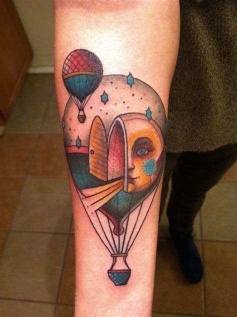 hot air balloon tattoo air balloon tattoots