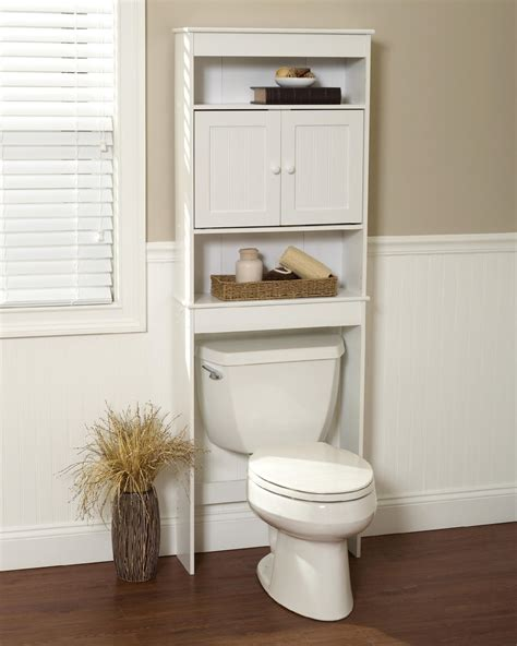 Zenith Bathstyles Spacesaver Bathroom Storage The Toilet Shelf Pearl Nickel Ebay Zenith Products Country Cottage Spacesaver White 3 Shelves Home Furniture Bathroom
