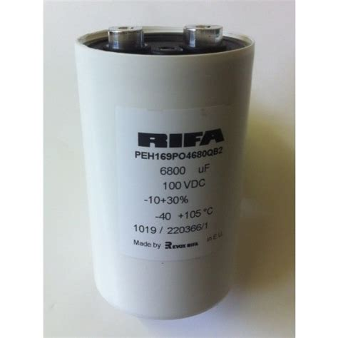 rifa capacitors uk 6800uf 100v kemet rifa peh169po4680qb2 high current industry capacitor ad2l7