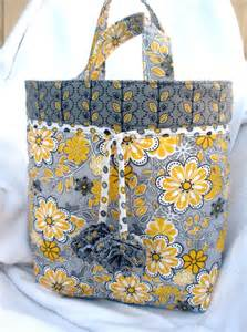 free quilted tote bag pattern sewing projects