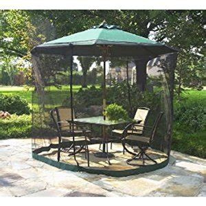 Amazon Com Patio Umbrella Mosquito Net 9ft Umbrella Patio Umbrella With Netting