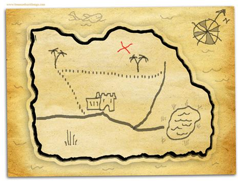 How To Make Treasure Map Paper - how to make a treasure map treasure hunt design