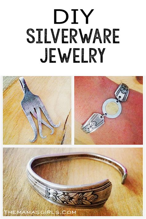 how to make fork jewelry how to make silverware jewelry