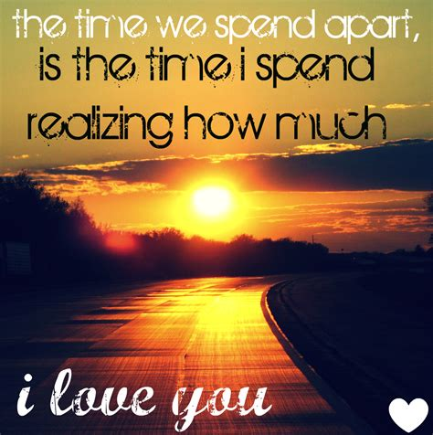 appart from quotes about being apart love