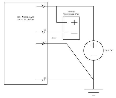 plc analog input card wiring diagram 28 images plc og