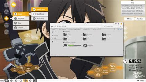 theme for windows 8 1 sword art online sao theme windows 10 8 7