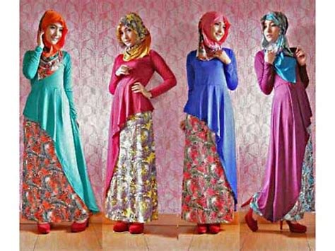 Gamis Baju Pakaian Wanita Muslim Karenina Syari Berkualitas jual baju casual muslim techunits