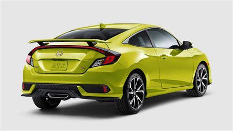 2019 Honda Civic by 2019 Honda Civic Si Arriving At Dealerships This November