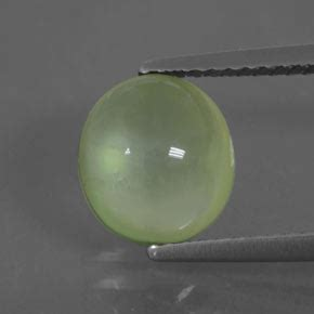 Garnet Afrika 6 43ct green prehnite 2 4ct oval from south africa and