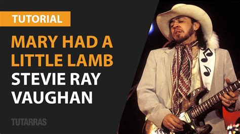 mary    lamb  stevie ray vaughan complete lesson tutorial youtube