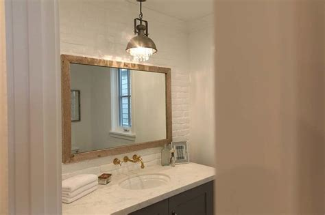 cottage bathroom mirror reclaimed wood bathroom mirror gray bathroom vanity with