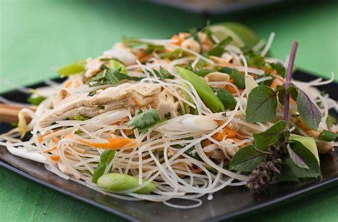 noodle salad recipes thai chicken noodle salad recipe