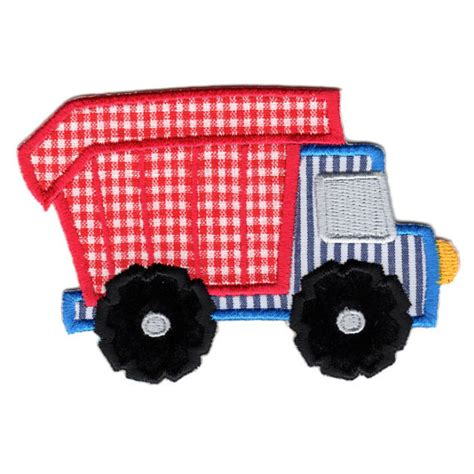 Dump Truck Applique Dump Truck by Dump Truck Ironon Applique Patch Baby Clipart