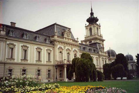 Das Schloss das schloss keszthely am balaton plattensee ungarn