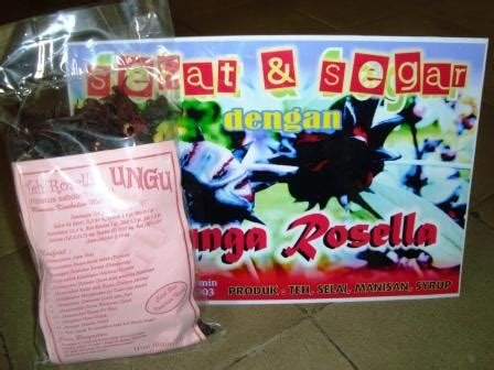 Teh Rosella Ungu makanan khas info wisata kota cepu