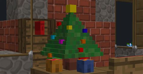 tiny minecraft christmas tree by resxintt on deviantart