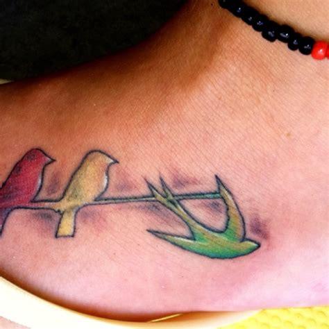 three bird tattoo marley three birds bob marley