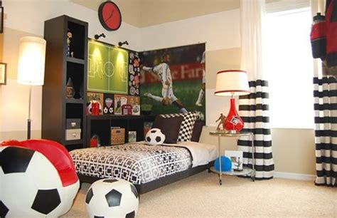 soccer decorations for bedroom get athletic with 15 sports bedroom ideas home design lover