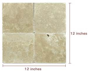 Squar Foot visual learners out there here is what 1 square foot of tile looks