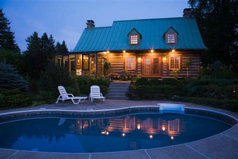 Cabins With Pools by June Cover Log Home A Cabin