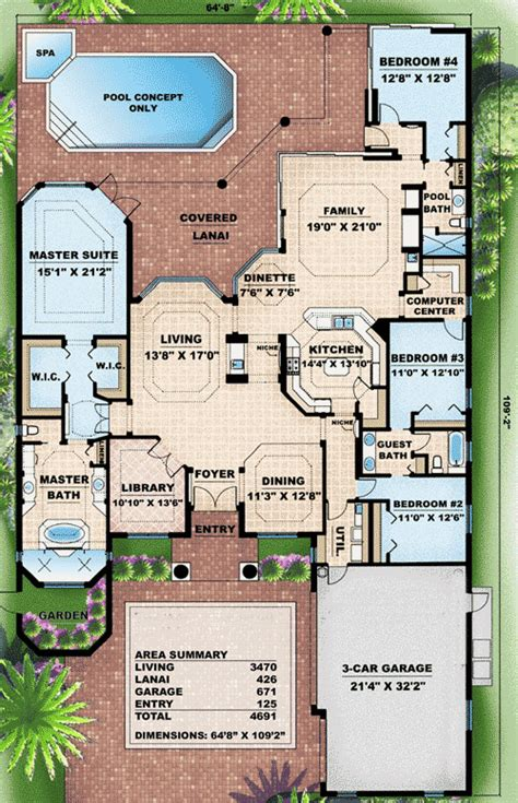 mediterranean house floor plans modern mediterranean house plan home design and style