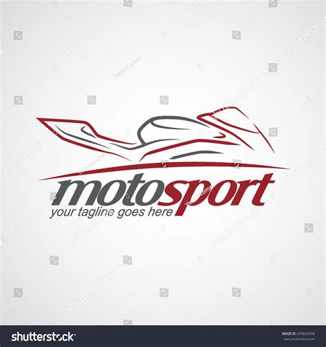 motosport logo vector illustration stock vector 479826358