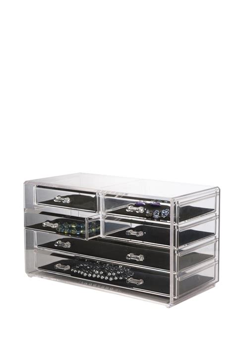 Acrylic Chest Of Drawers by Us Acrylic Deluxe 6 Drawer Jewelry Chest Nordstrom Rack