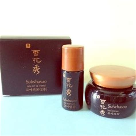 Sulwhasoo Basic Kit Trial 5 Item 21 hera other hera cell bio trial kit 5 item from