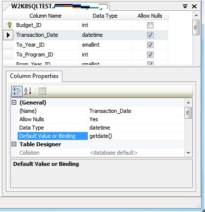 Sql Management Studio Auto Format by Sql Server How To Set A Datetime Field To Automatically