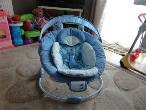 bright starts comfort and harmony bouncer 2 x bright starts comfort harmony cradling bouncer blue