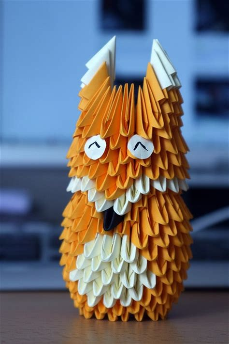 3d Origami Fox - 17 best images about 3d origami d on origami
