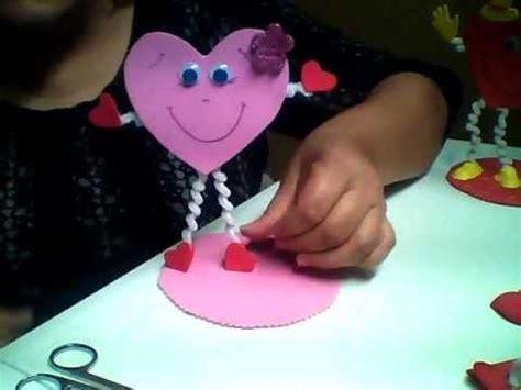 imagenes de amor y amistad en fomy fantastideas corazon porta lipicero para san valentin