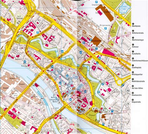 bremen city map bremen map detailed city and metro maps of bremen for
