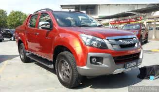 Second Isuzu Dmax Isuzu D Max V Cross 3 0l Introduced Rm101k 118k