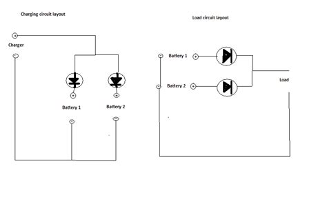 how to wire a diode paralleling bms protected li ion packs electricbike ebike forum