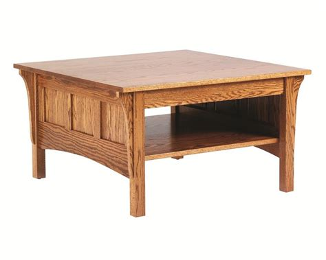 Amish Square Shaker Coffee Table Amish Coffee Table