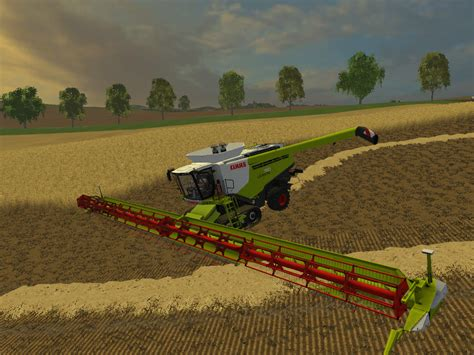 Large Ls Class Lexion 770tt Pack Header 36m Farming Simulator