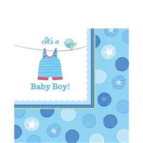 City Baby Shower Boy by It S A Boy Baby Shower Lunch Napkins 16ct City