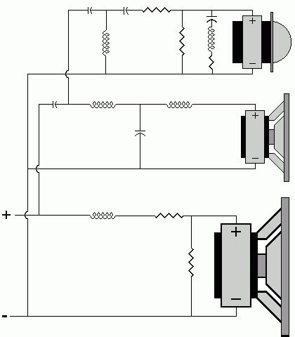 speaker crossover wiring diagram wiring diagram and