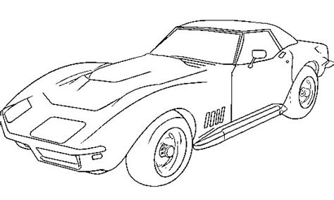 coloring pages of corvette cars corvette 1979 coloring page corvette car coloring pages