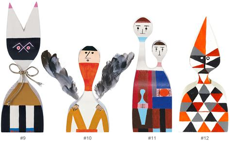 Wooden Dolls By Alexander Girard   hivemodern.com