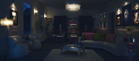living room nightclub living room at night decorating clear